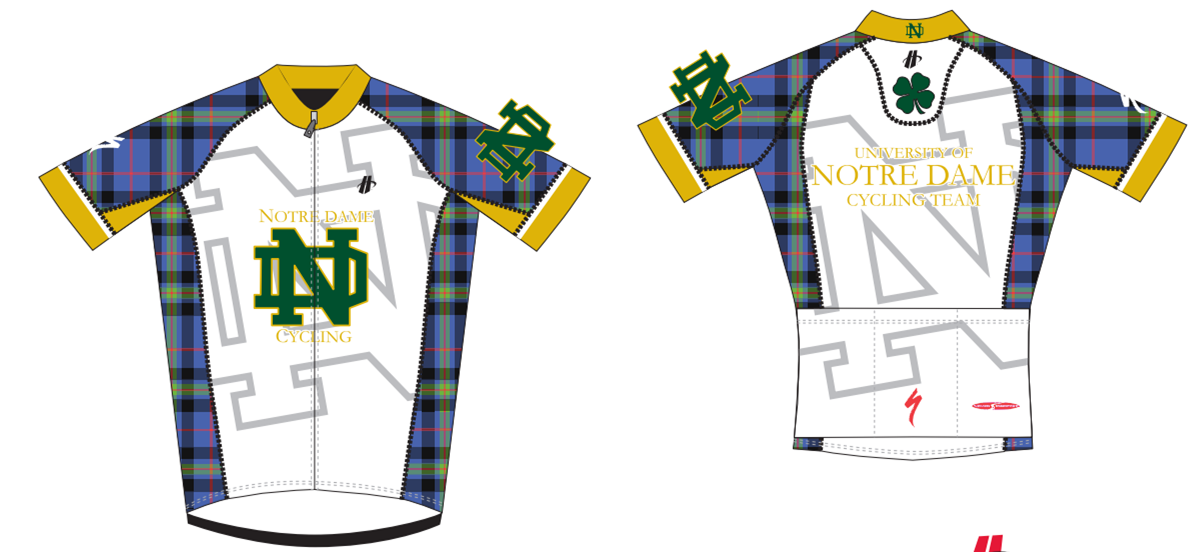 Notre Dame recently took 2nd place in the USA Cycling King of Style  Collegiate Jersey contest. Read more here 0ee89cfa7