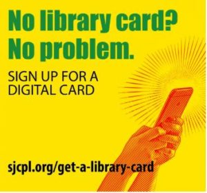 sign up for library card