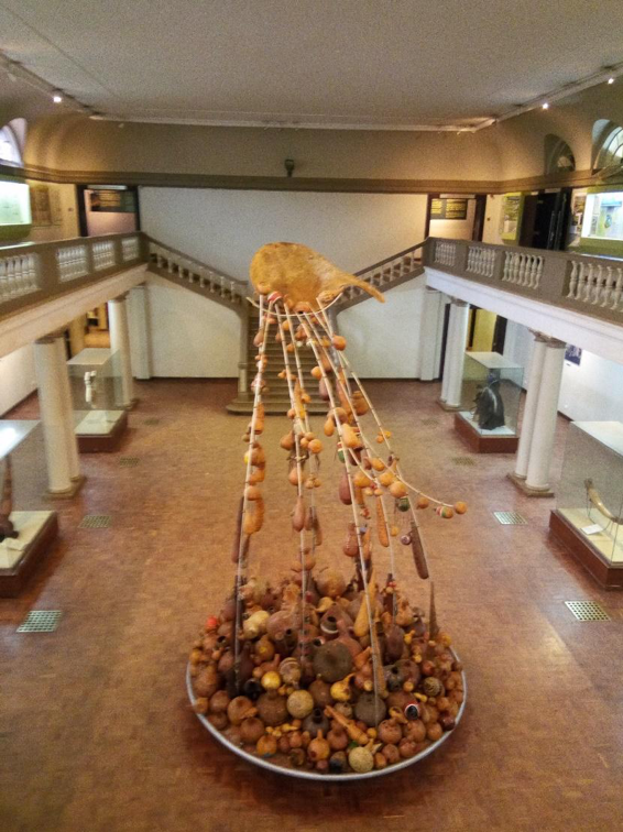 A variety of gourds at the Nairobi National Museum