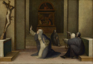 Catherine of Siena receiving the stigmata