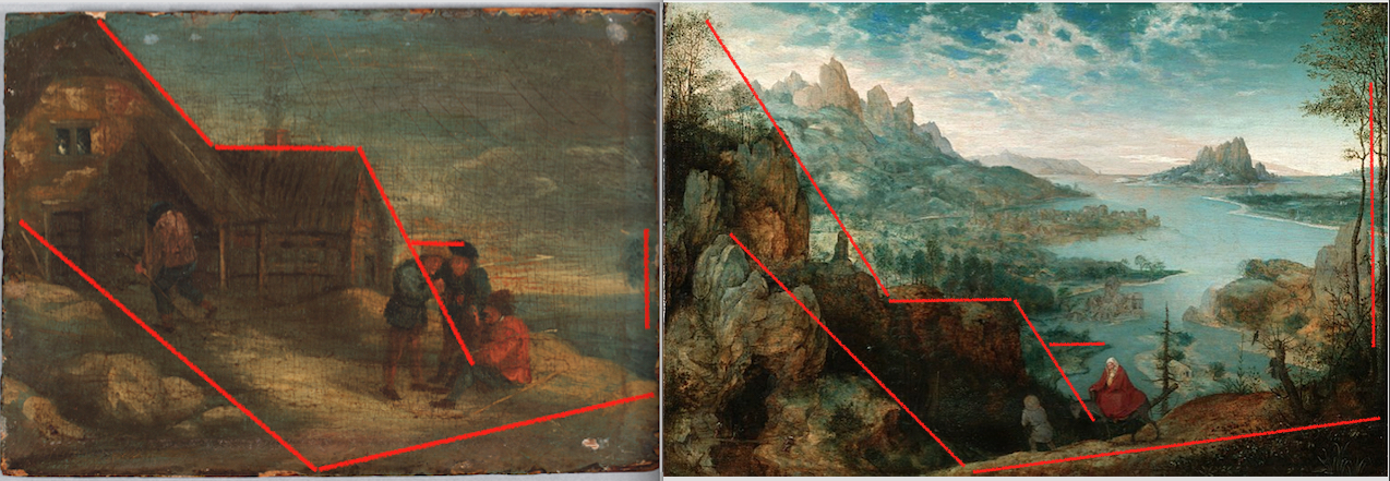 Paintings compared