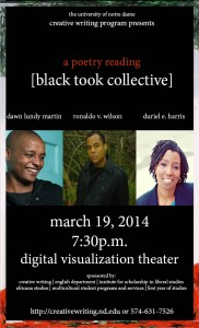 Black Took Collective Poster