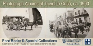 Photograph Albums of Travel to Cuba, ca. 1900