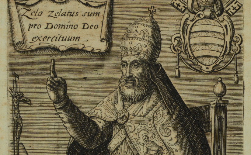 Recent Acquisition: Rare Biography of Pope Paul IV