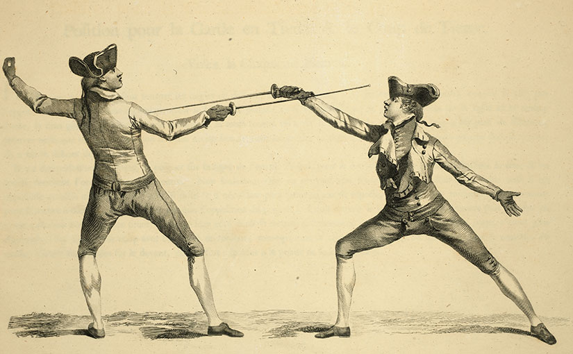 Recent Acquisition: L'École des armes (The School of Fencing)