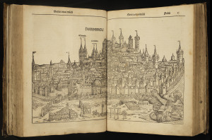 Nuremberg in Liber cronicarum