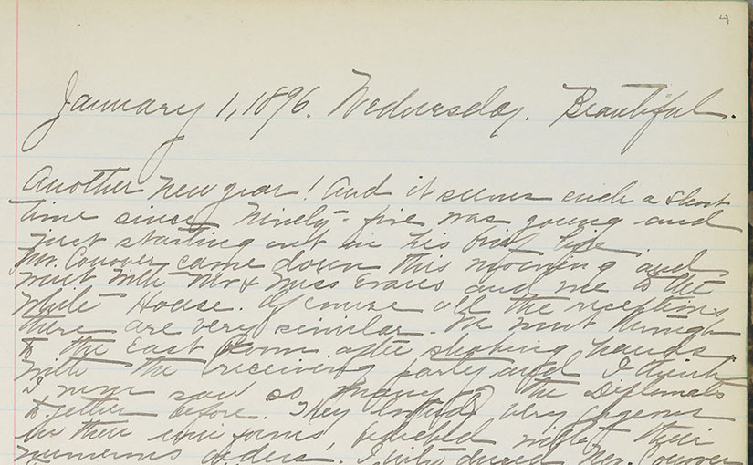 The Mary Huntington Morgan Diary and Campus Collaboration