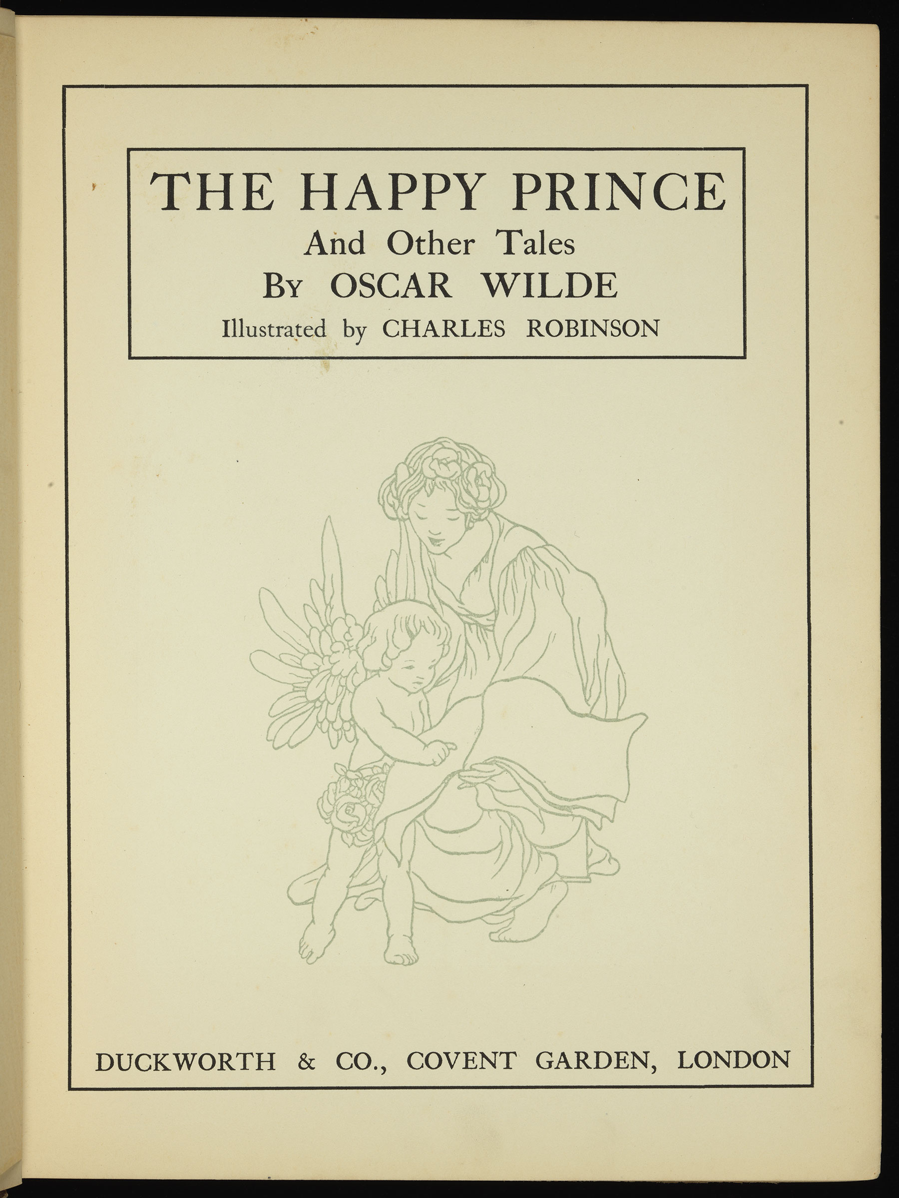 The self and the other in the happy prince and other tales 1888 by oscar wilde essay