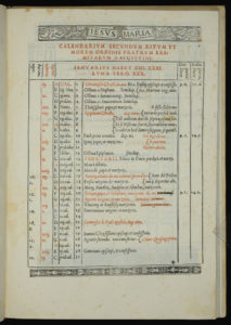image of liturgical calendar