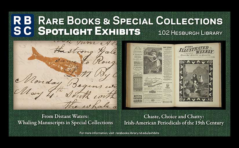Spotlight Exhibit: Irish-American periodicals in Special Collections