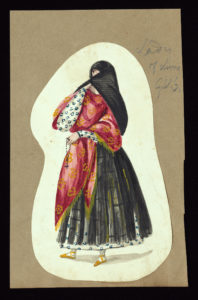 Image of veiled woman