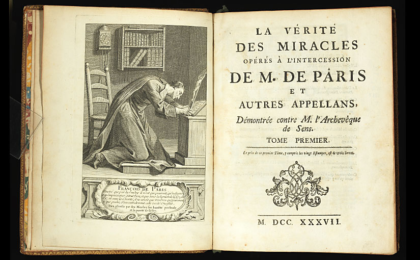Recent Acquisition: Jansenist controversy in 18th century France