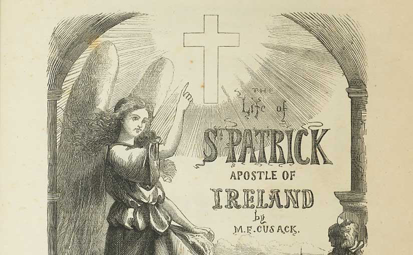 St Patrick and the Nun of Kenmare