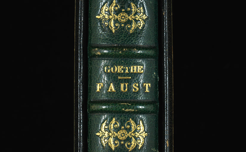 Recent Acquisition: Making a Pact with the Devil – Goethe's Faust