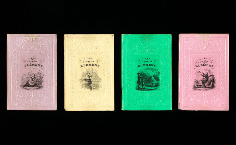 Recent Acquisition: Miniature Books on the Four Elements