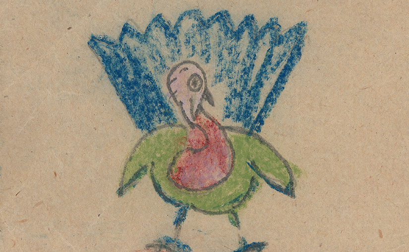 """Thanksgiving Greetings"" from the Strunsky-Walling Collection"