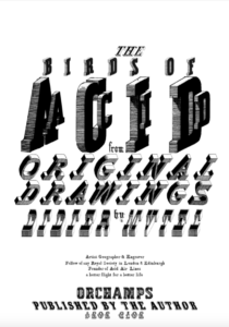 Birds of Acid title page