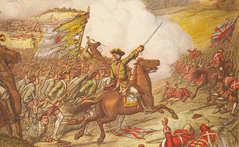 """Revenge! Remember Limerick"" — The Fighting Irish at Fontenoy"