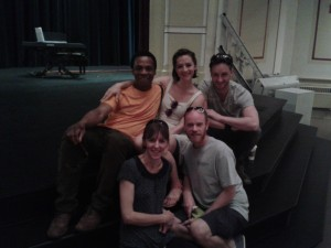 Othello cast candid