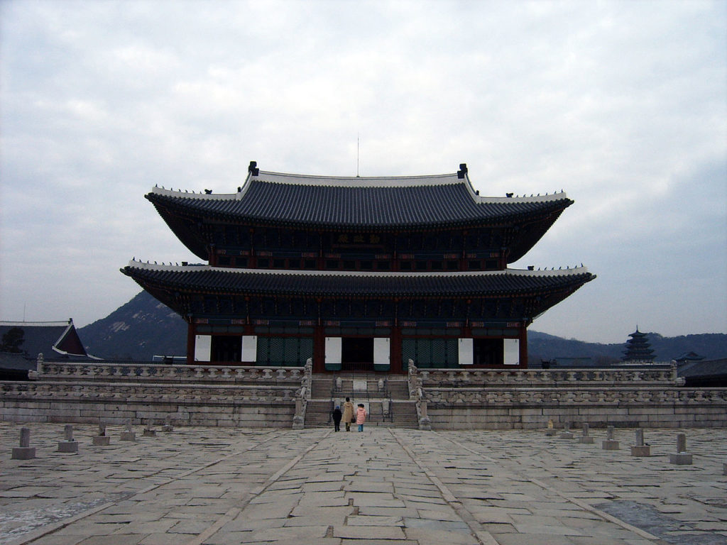 The Korean Royal Palace by I, Skanky (Wikimedia)
