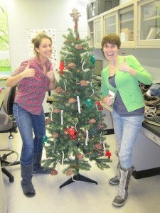 Tree decorating contest (2012)