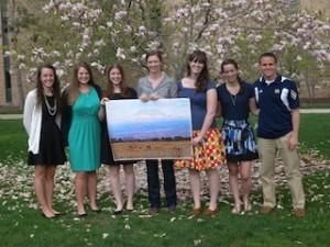 Graduating seniors 2013