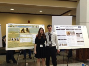 COS-JAM poster session 2013 (Suzi Spitzer and Jeff Hansen)