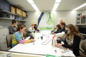 Penn high schoold visit Spring 2016