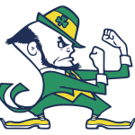 Notre Dame Leprechaun Logo