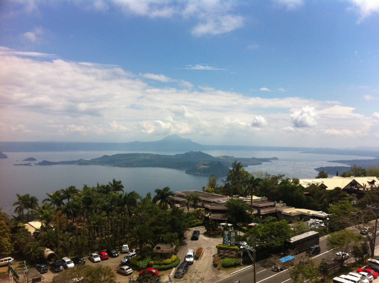 Lake Taal from above
