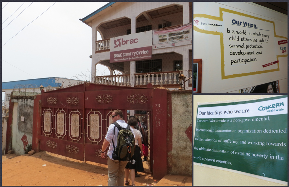 Team Sierra Leone visited Save the Children, BRAC, and Concern Worldwide.