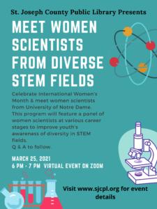 SJCPL Meet a Scientist