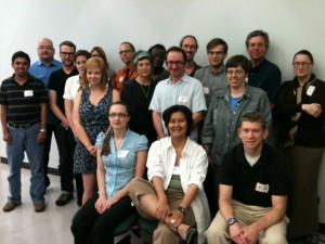 Attendees of Code4Lib Midwest