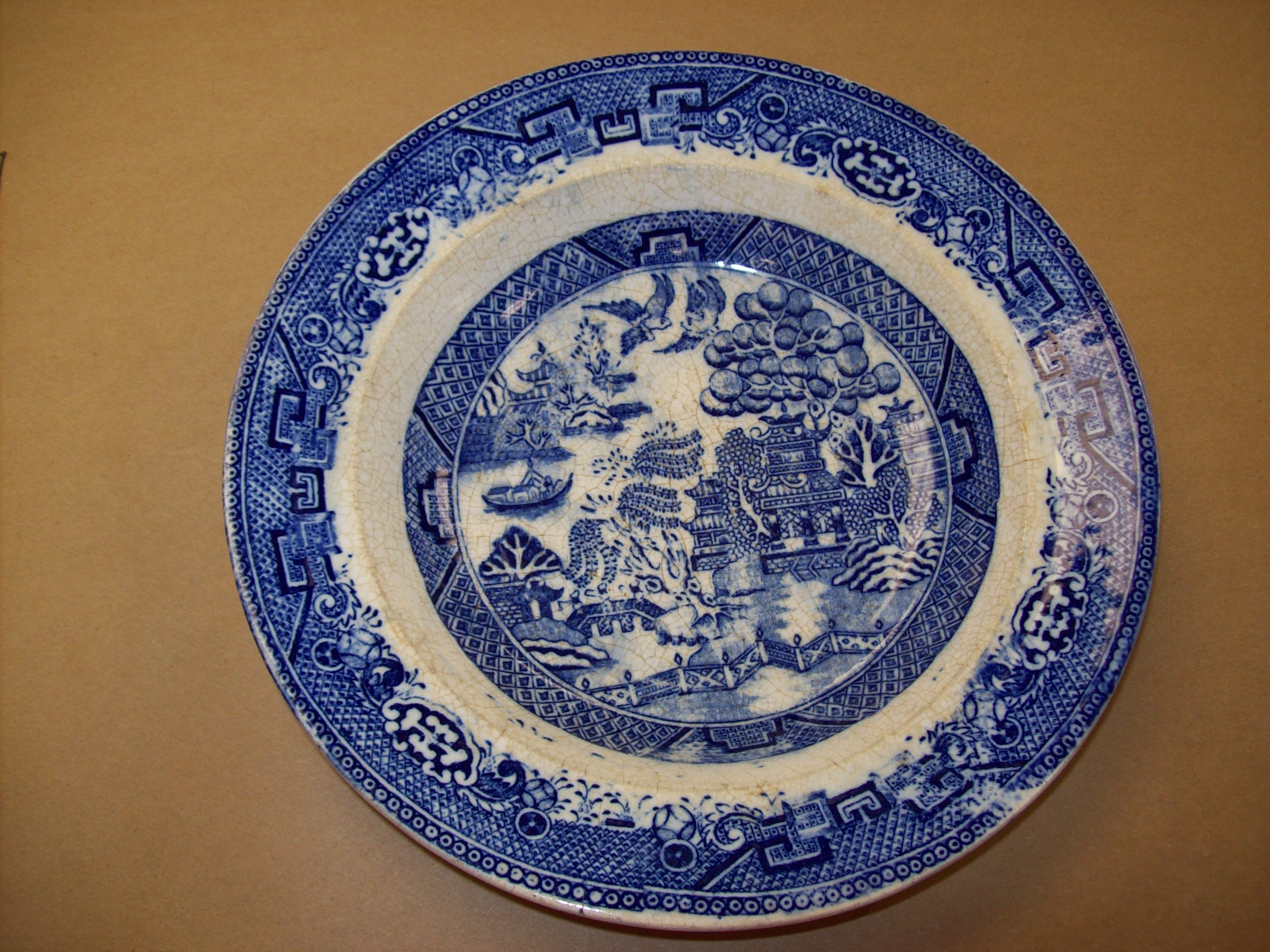 Patterned Dishes And Ideology