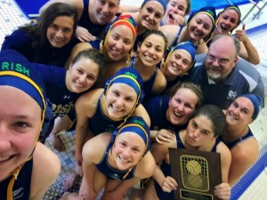 Team selfie with 2nd Place plaque