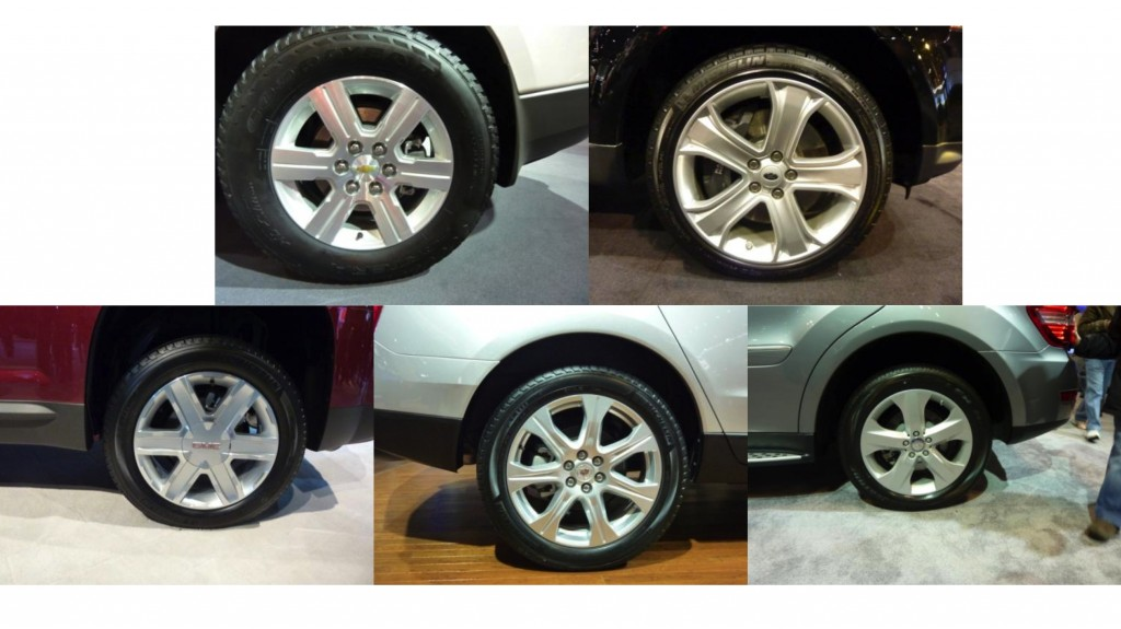 Wheel rims with similar complexity