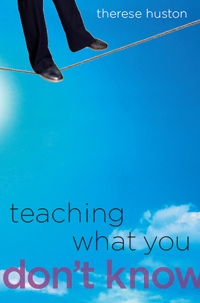 teaching what you dont know book cover