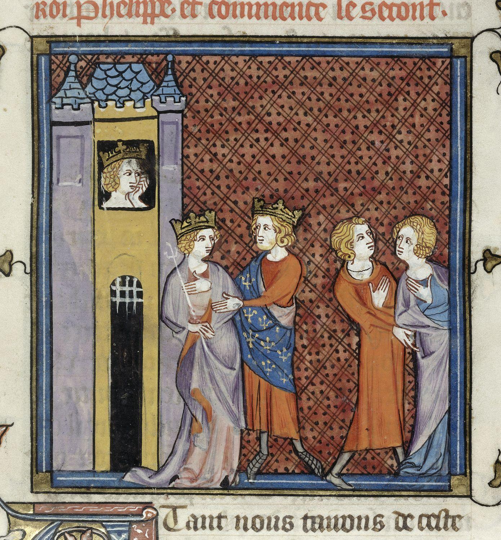 Queen Imprisoned