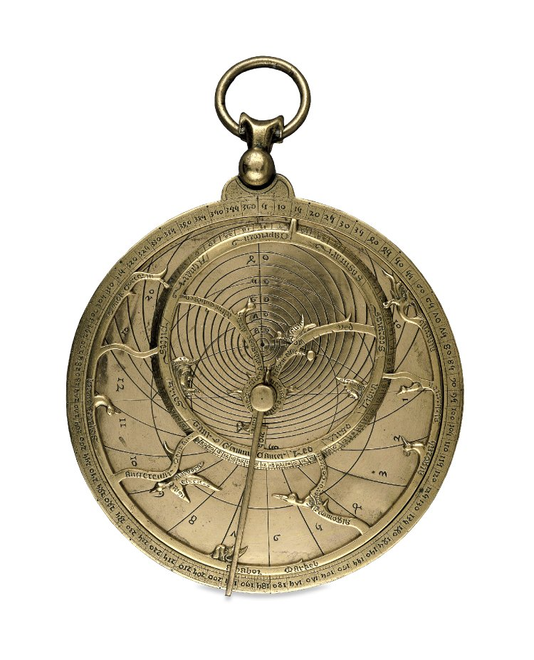 "The ""Chaucer"" Astrolabe, England, c. 1326 © The British Museum"
