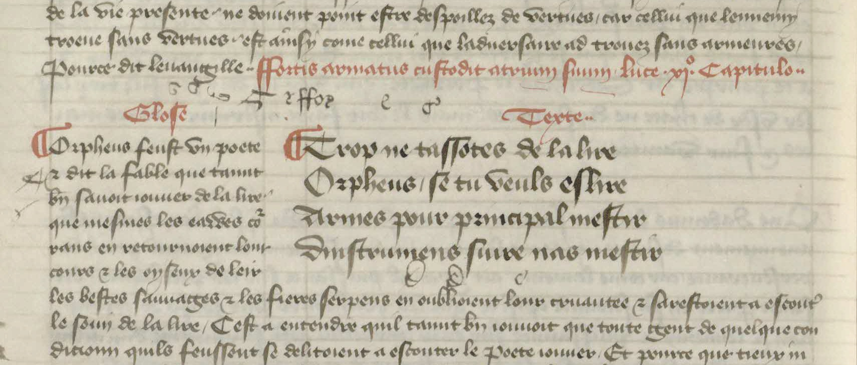 Hoccleve's Othea In Harley MS 219