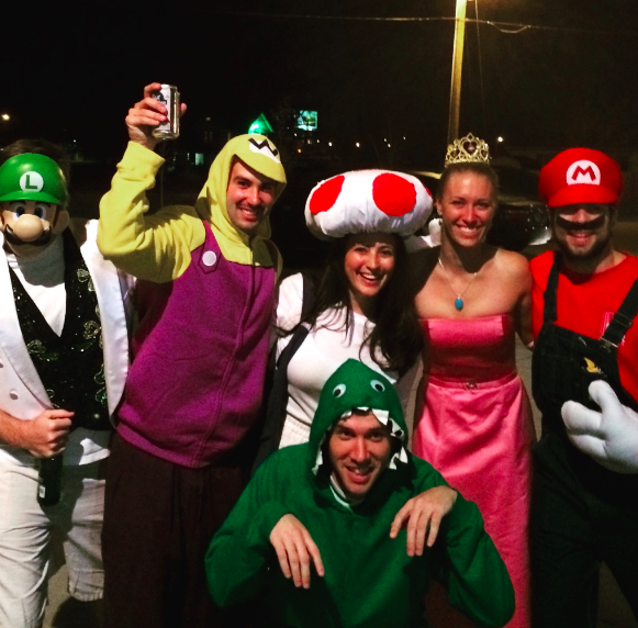 Fun fact: Of the top 25 MBA programs in the U.S., Notre Dame has the highest percentage of students from the Mushroom Kingdom. (Photo courtesy Dara Chesnutt)