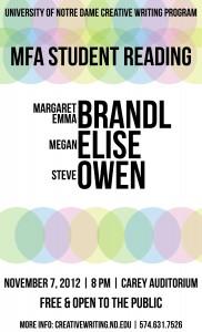 creative writing mfa handbook 2012