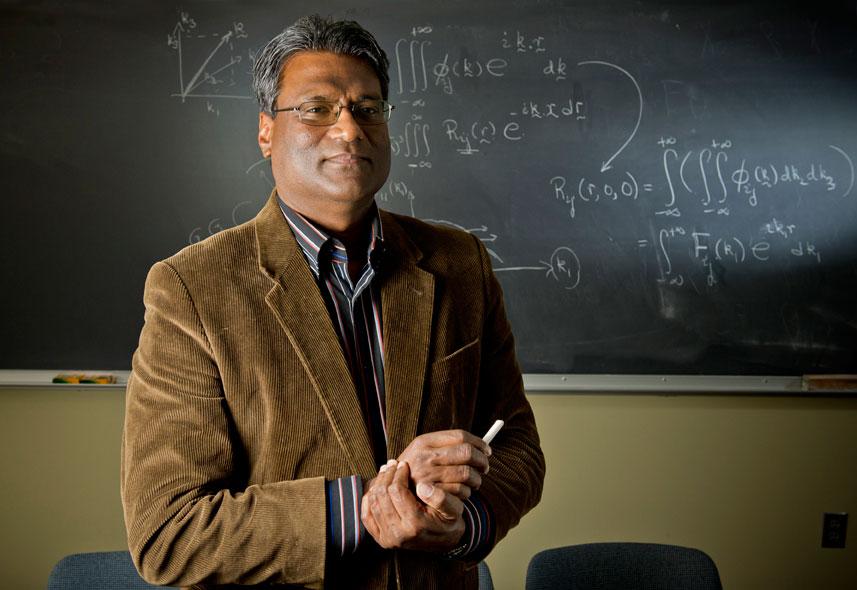 Mar. 20, 2013; Prof. Joe Fernando for ND Magazine. Photo by Barbara Johnston/University of Notre Dame