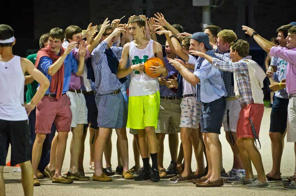 Jul. 9, 2013; Pre-College program Bookstore Basketball Photo by Matt Cashore/University of Notre Dame