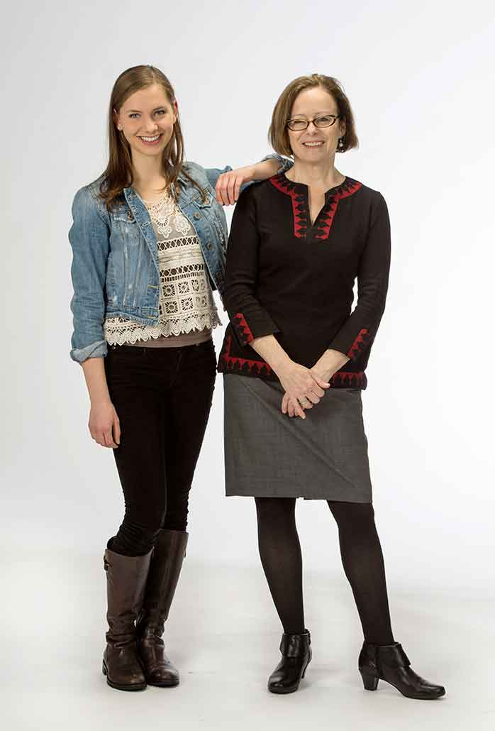 Erin Thomasson & Professor Julia Douthwaite