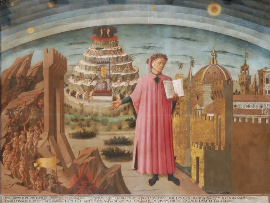 Image dante and his world small