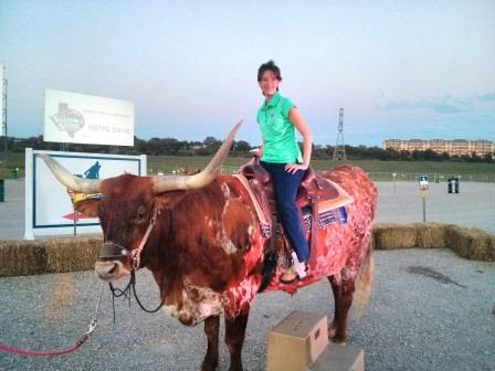 I AM ON A COW. You're welcome!
