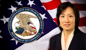 USPTO Director Michelle K. Lee, the first female to be elected for the position, was appointed by President Barack Obama in 2014