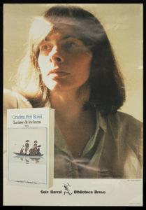 Poster promoting publication of Peri Rossi's novel, La nave de los locos.