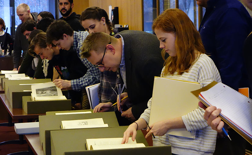 Bringing Classes to Special Collections